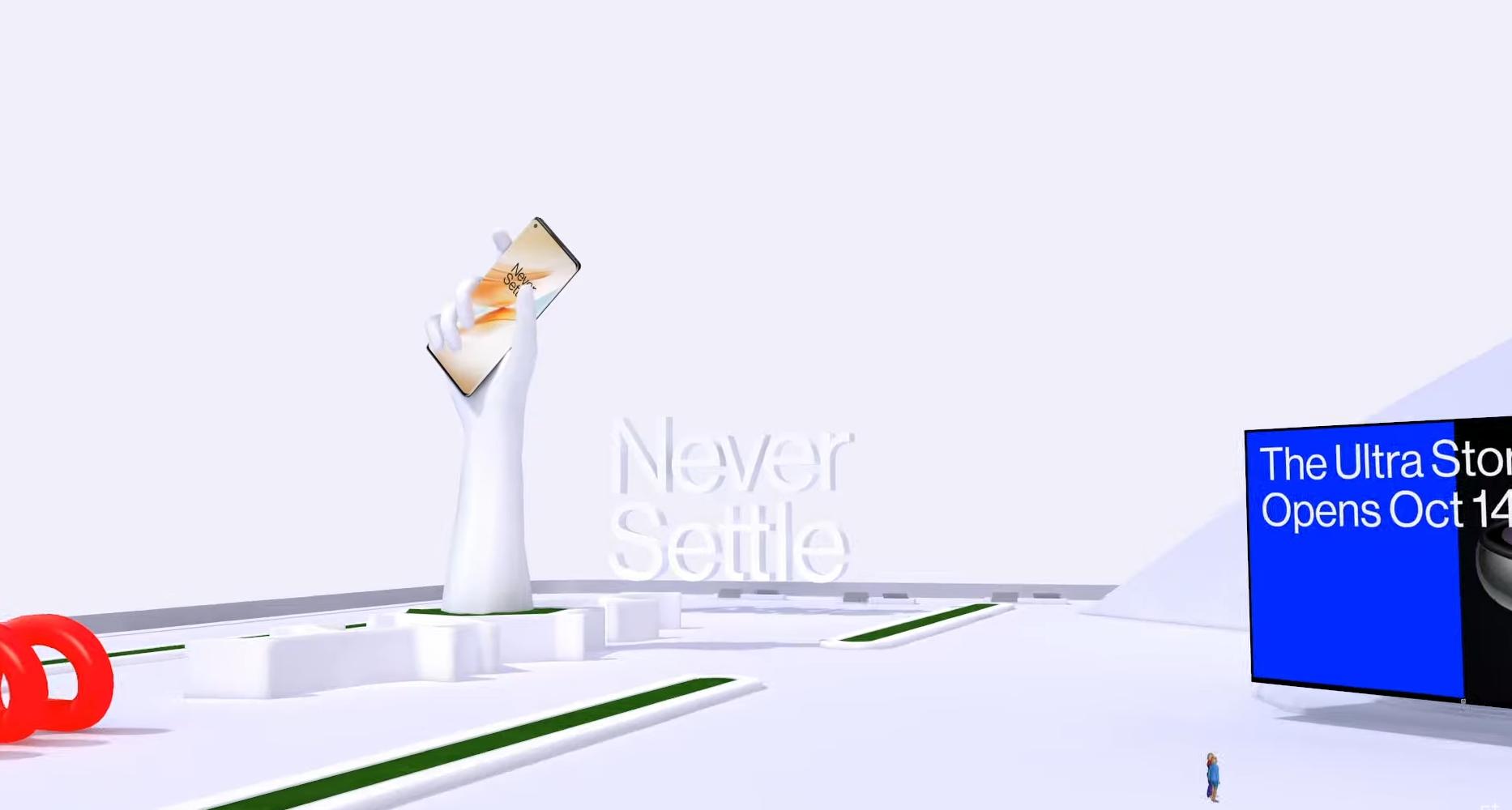 OnePlus svela una particolare esperienza visiva 3D per il lancio di OnePlus 8T