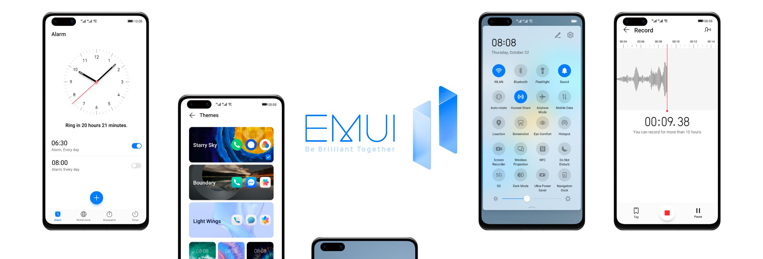 Huawei svela il piano di aggiornamento ad EMUI 11: tempi e lista