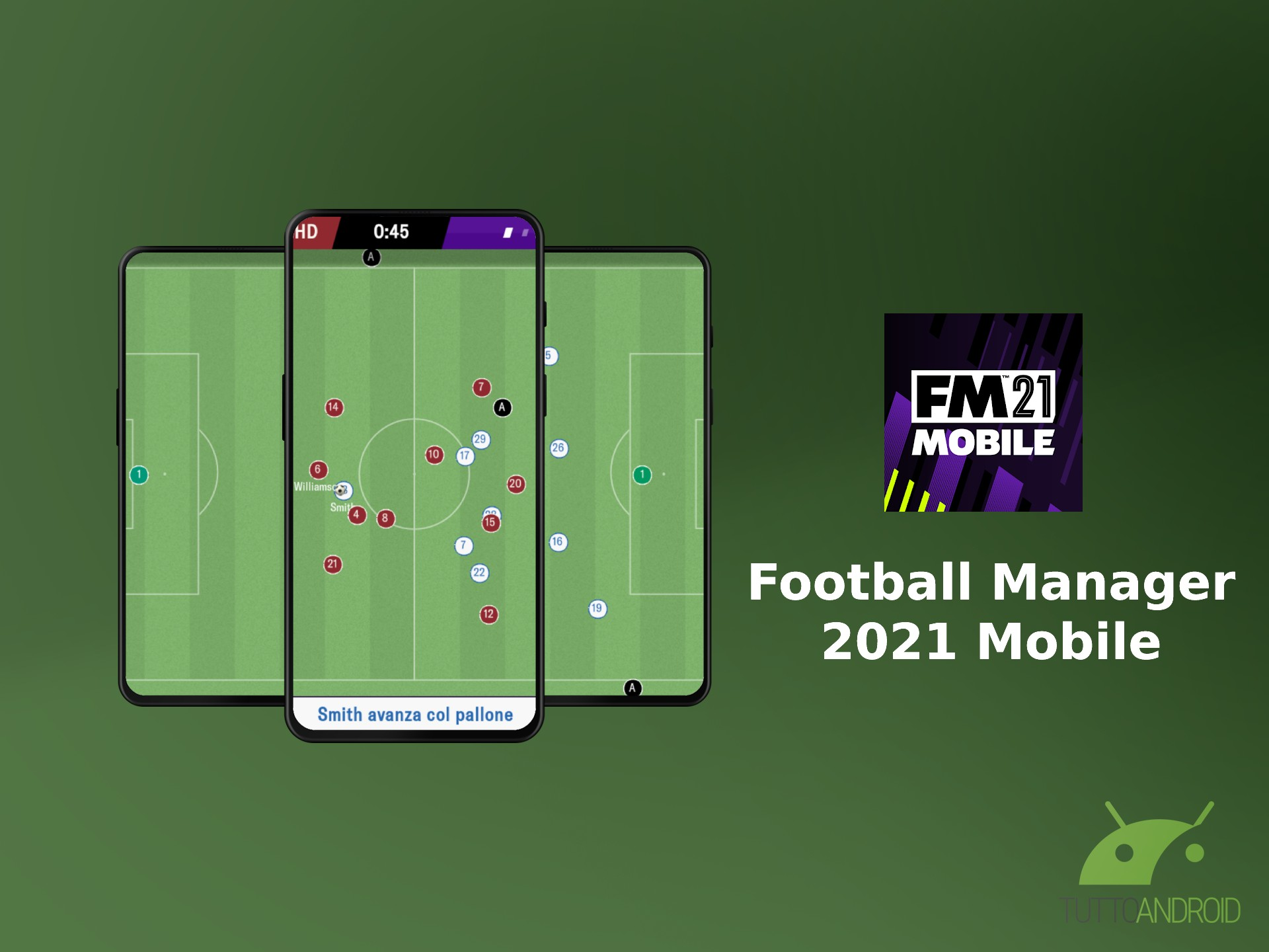 Football Manager 2021 Mobile sbarca su Android con numerose novità