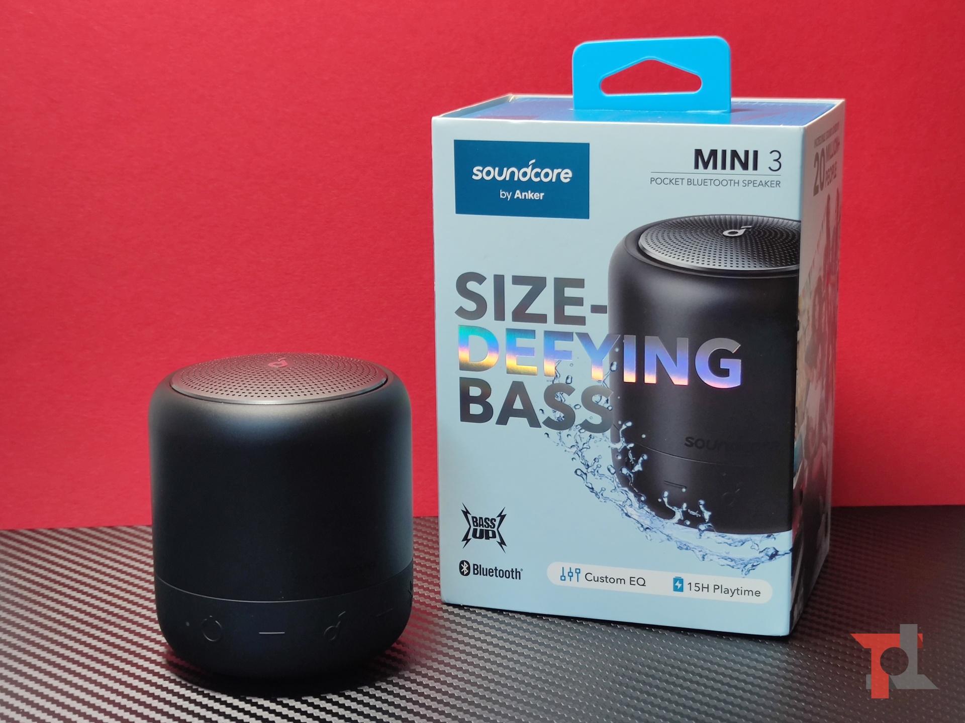 Recensione Soundcore Mini 3, piccolo speaker tuttofare che non teme l'acqua