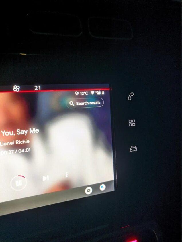 android auto tasto risultati ricerca