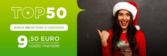 coopvoce top 50 easy 13 gennaio 2021