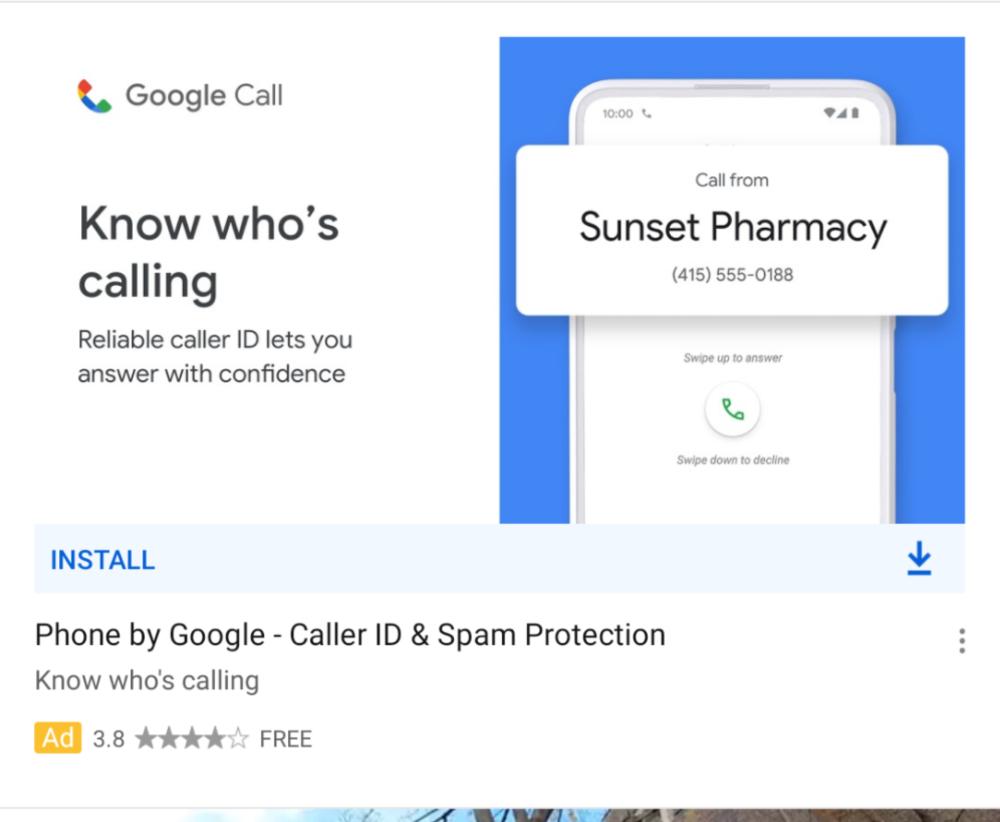 Google Telefono Google Call