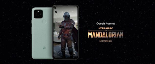 google the mandalorian ar