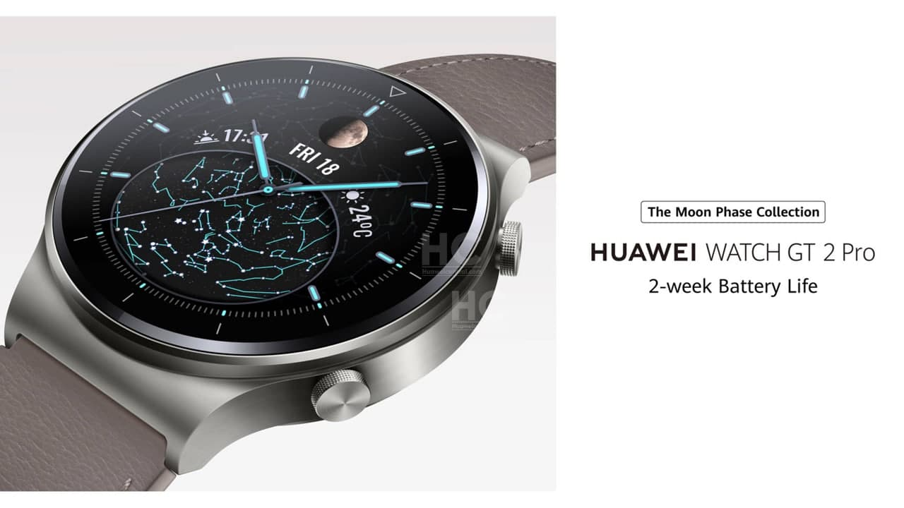 Huawei Watch GT2 Pro Moon Phase Collection