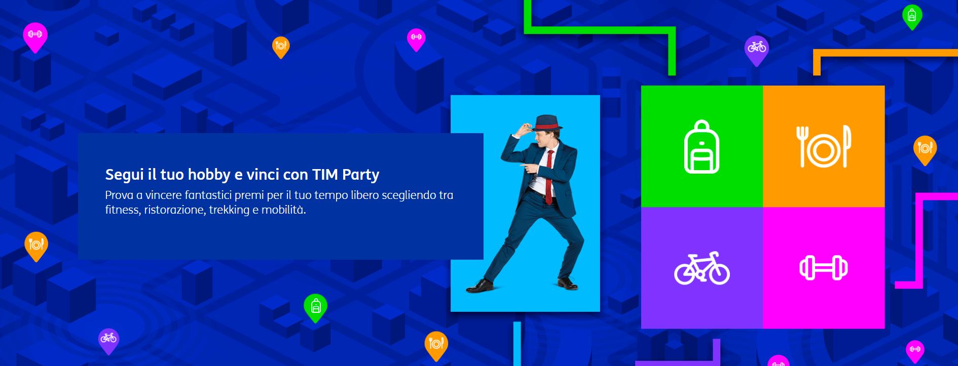 tim party concorso premi