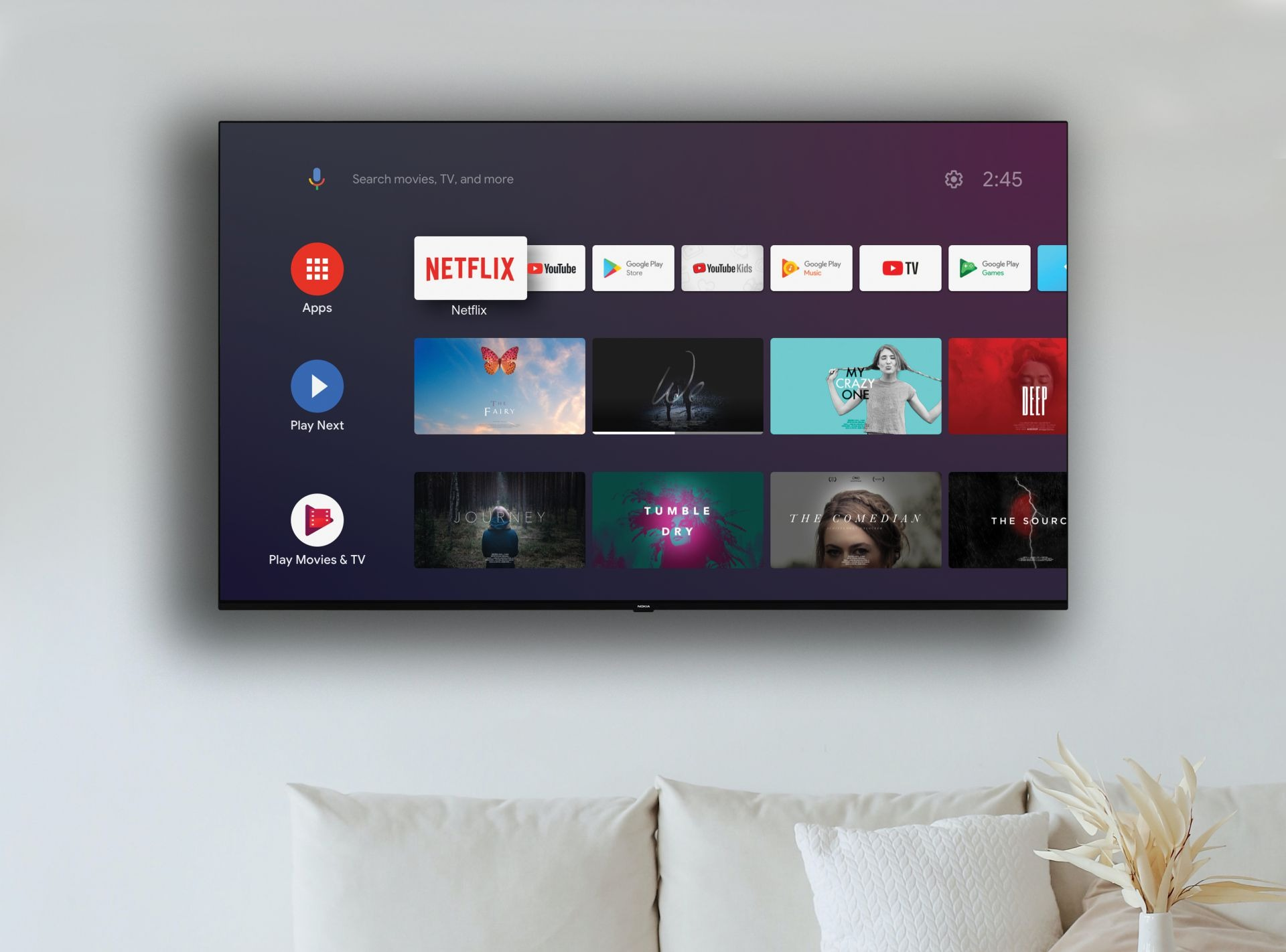Nokia annuncia una nuova serie di smart TV con Android TV