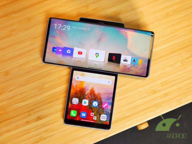 Questi sono gli smartphone LG supportati …