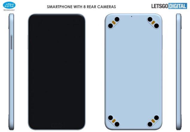 smartphone otto fotocamere brevetto design
