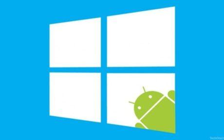 microsoft windows android