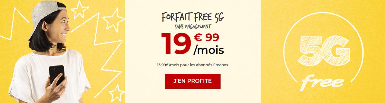 Free Mobile Iliad 5G