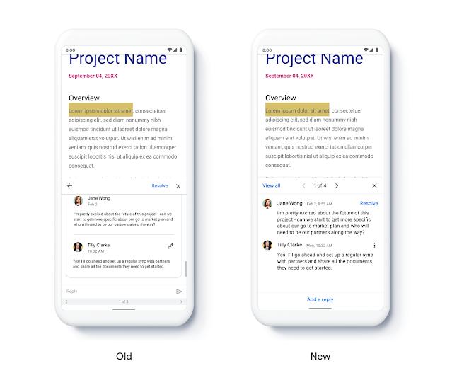 Google Drive, Documenti, Fogli e Presentazioni