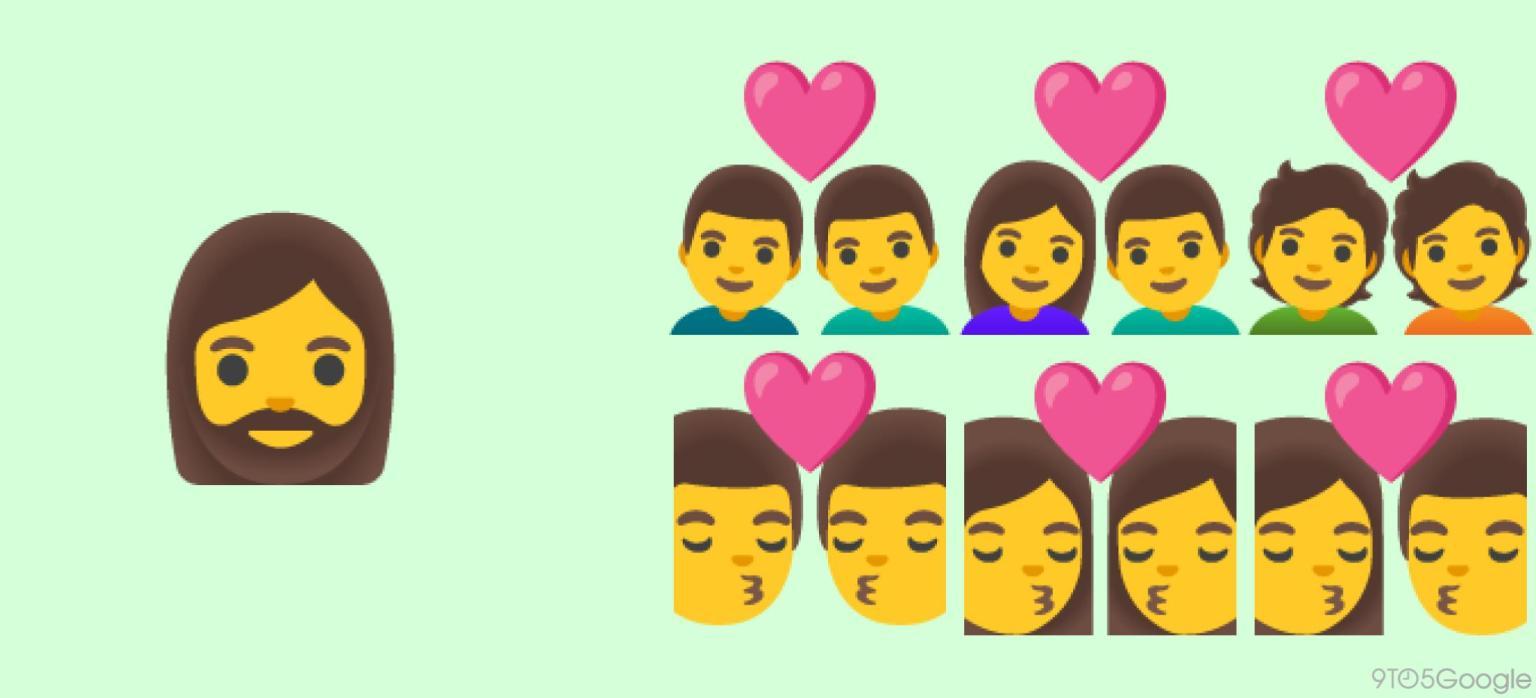Google Pixel emoji 13.1