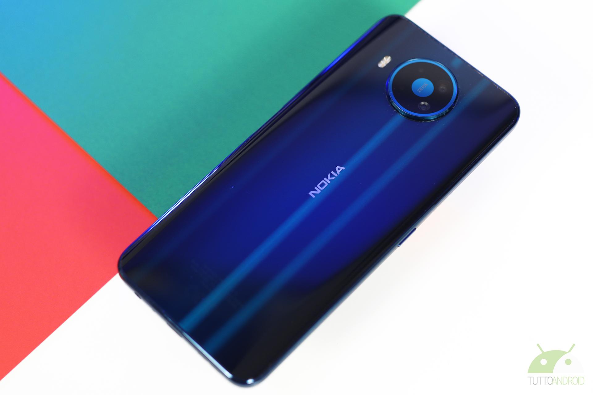 Nokia 8.3 5G batteria