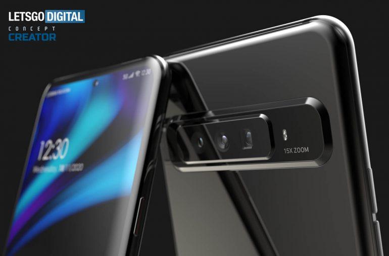 OPPO brevetta uno smartphone con fotocam …