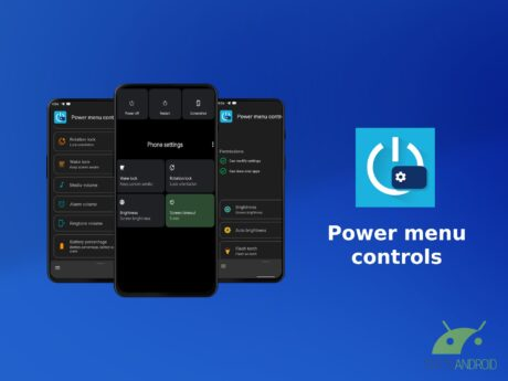 Power menu controls