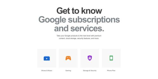 google store abbonamenti novità