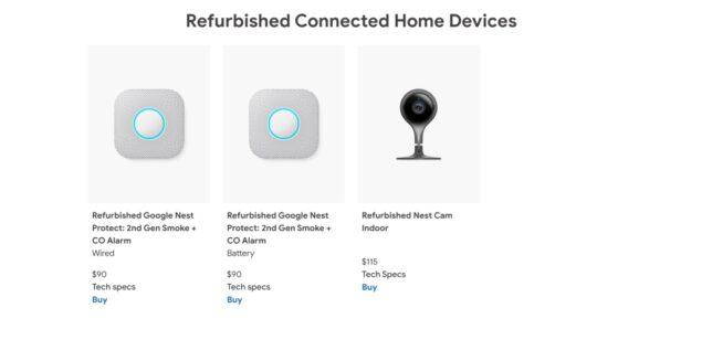 google store pixel 3 nest ricondizionati