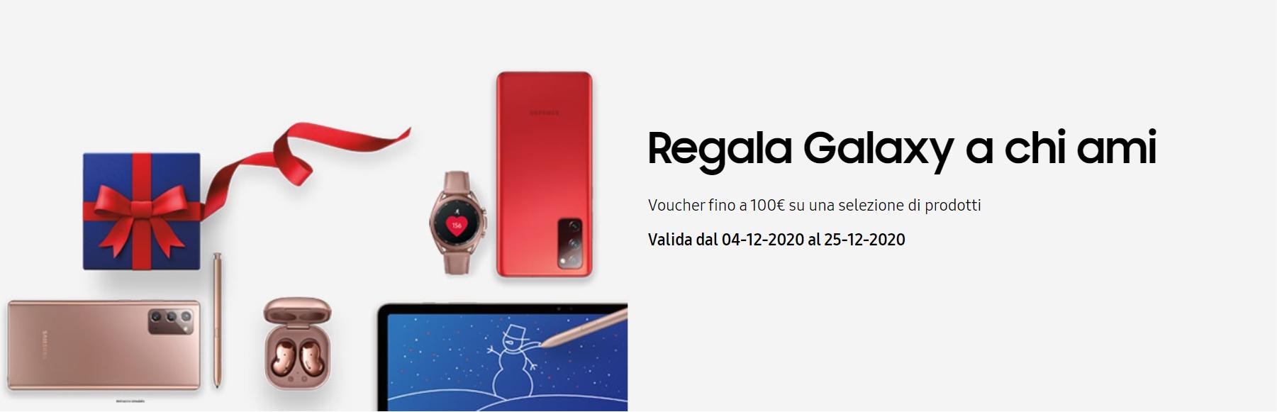 """Samsung """"Regala Galaxy a chi ami"""""""