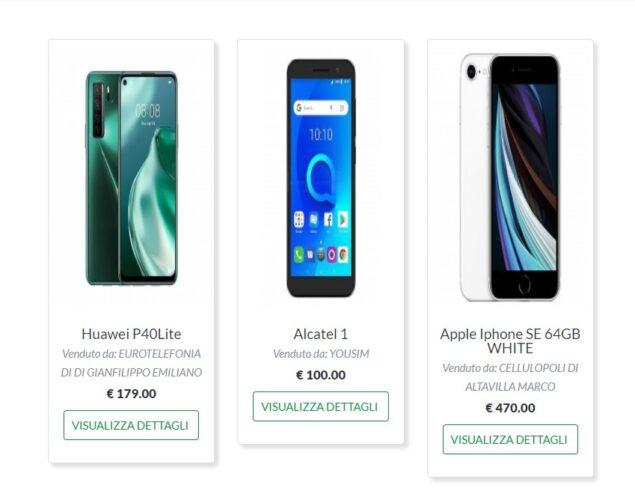 rabona mobile estore disponibile