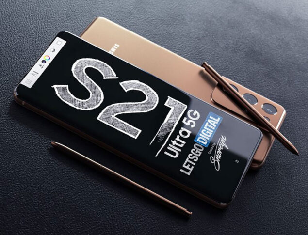 samsung galaxy s21 ultra s pen render