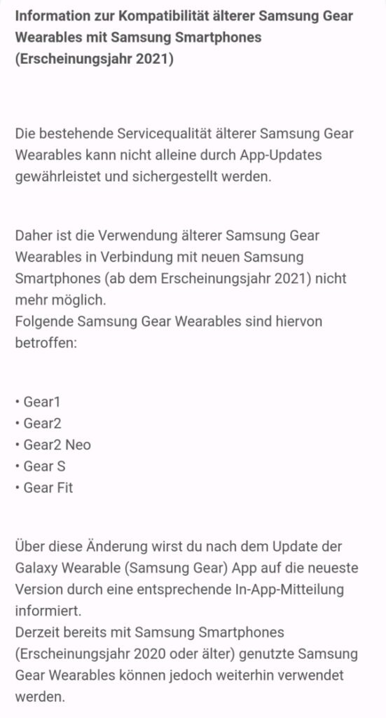 samsung gear 1 2 neo s fit galaxy s21 supporto