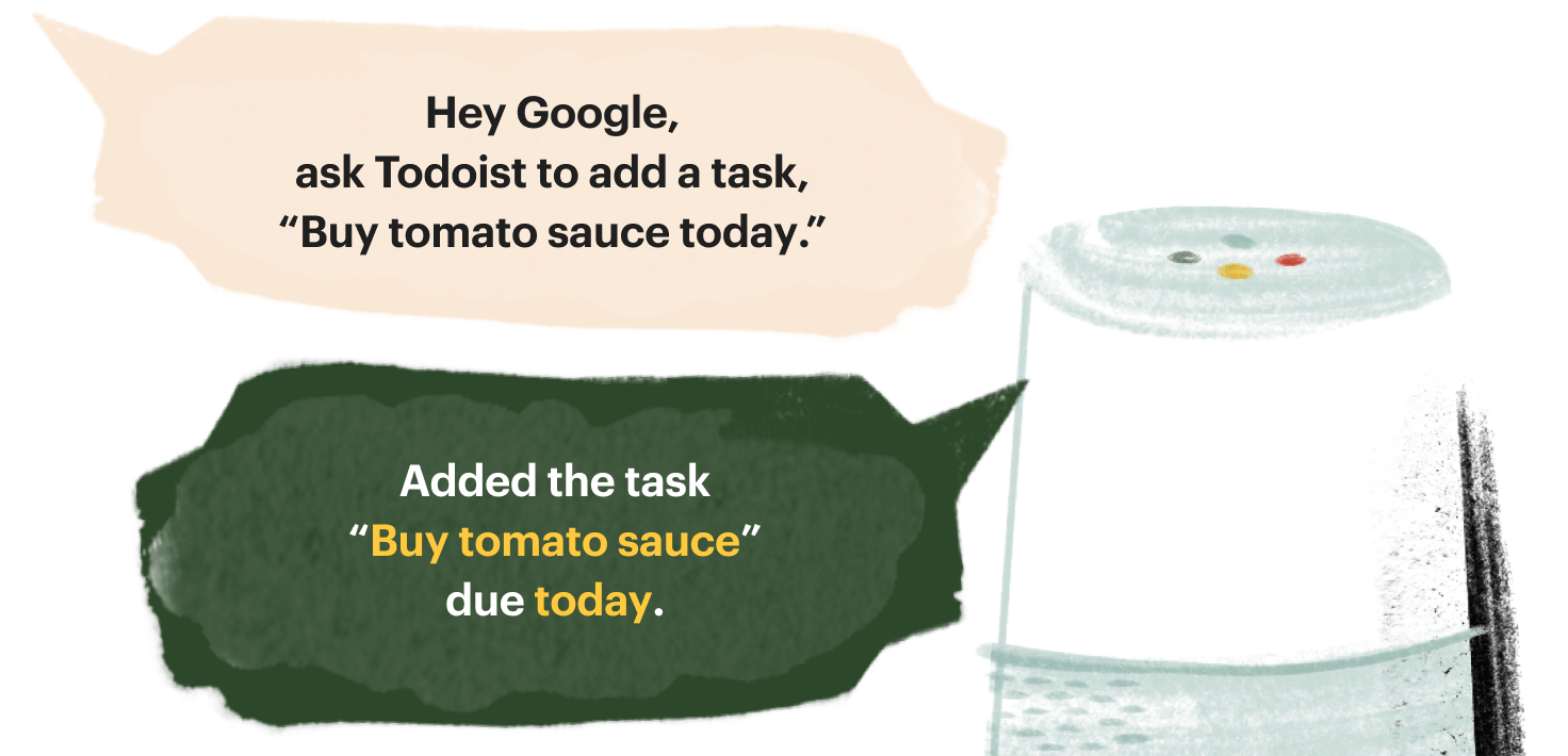 Todoist Google Assistant