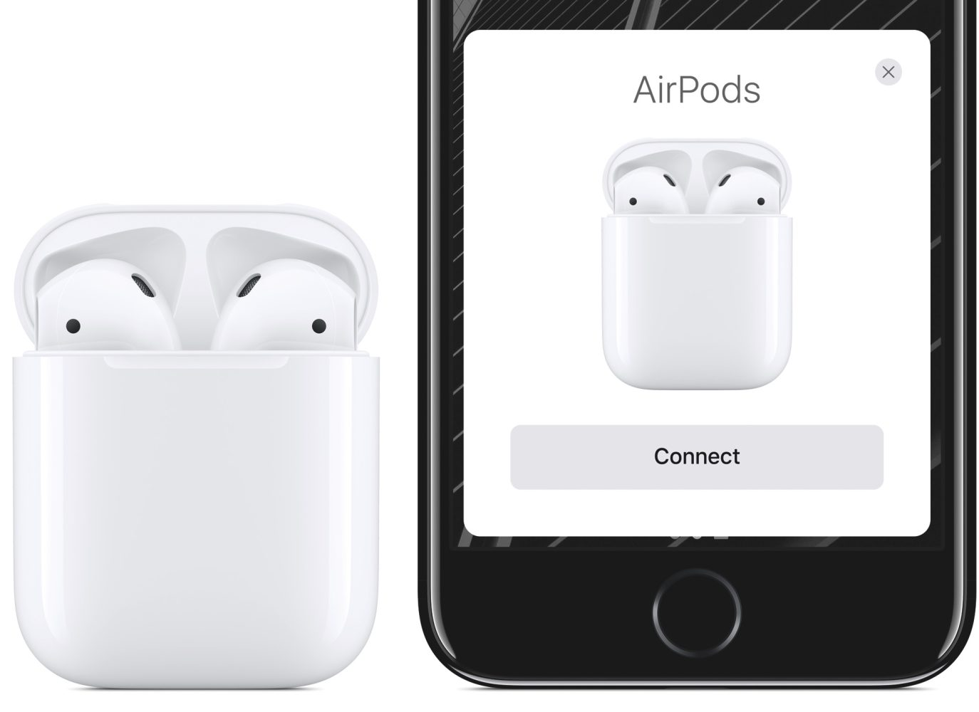 apple airpods iphone w1