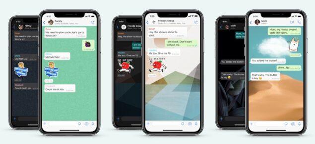 whatsapp wallpaper sticker novità
