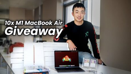 M1 MacBook Air Giveaway