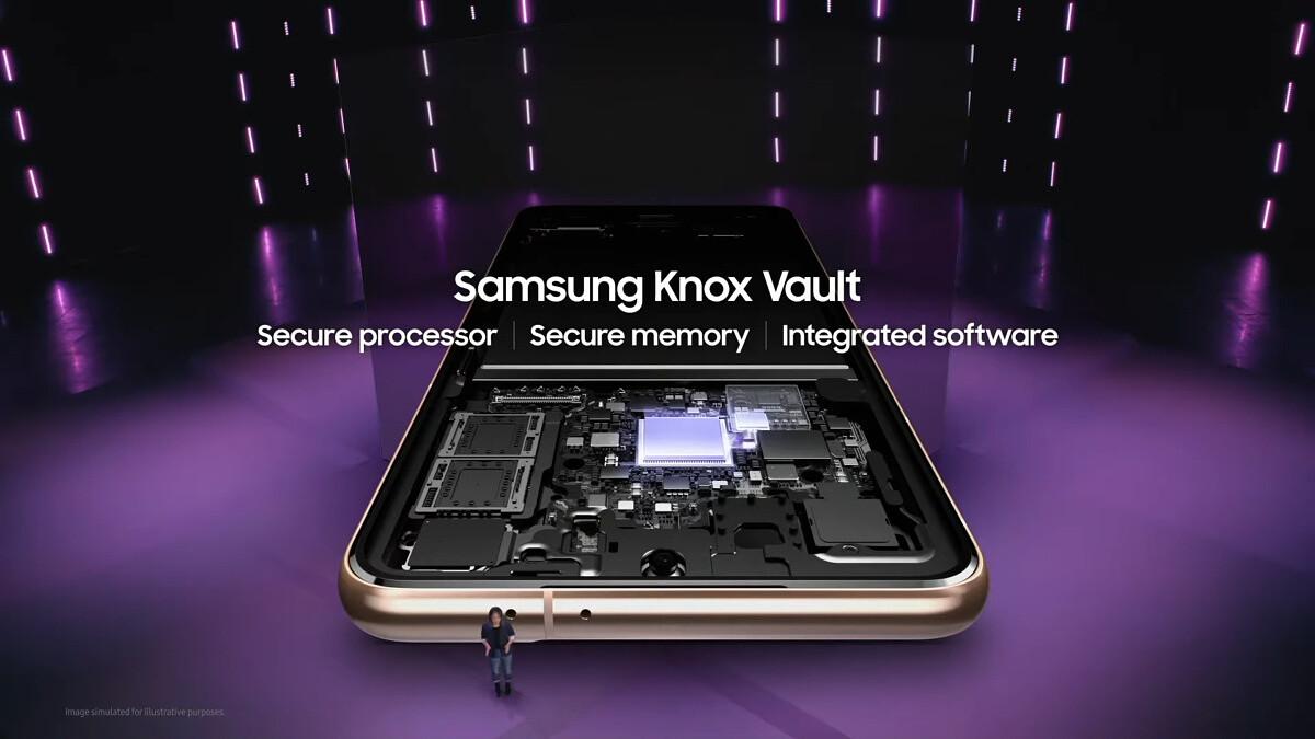 samsung galaxy s21 knox vault