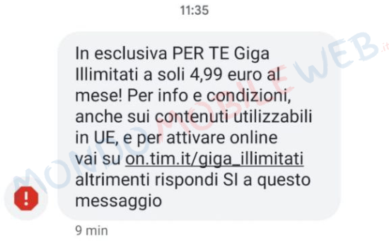 tim per te giga illimitati