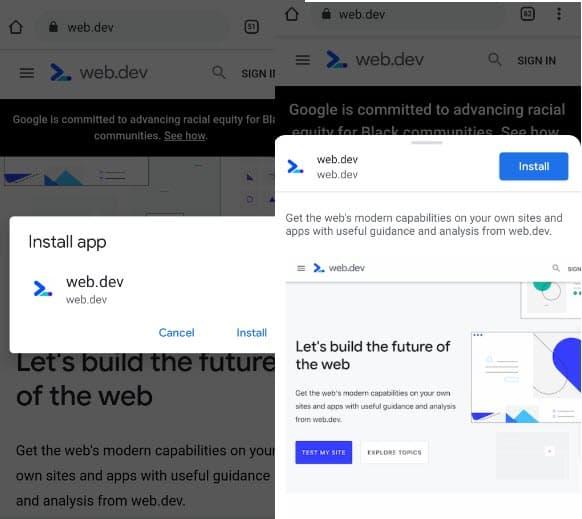 Google Chrome 89 beta