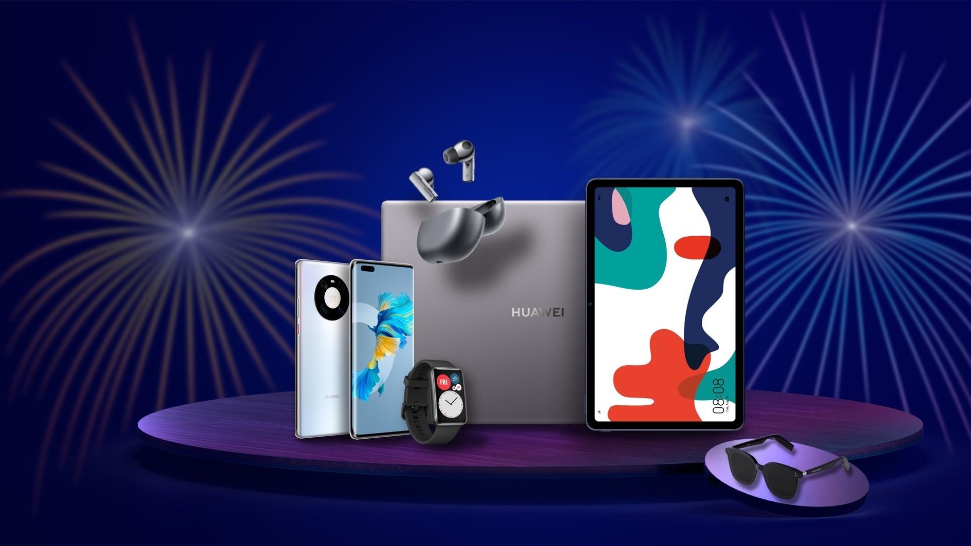 Sconti oltre il 40% su smartphone, tablet e accessori per la Huawei Week
