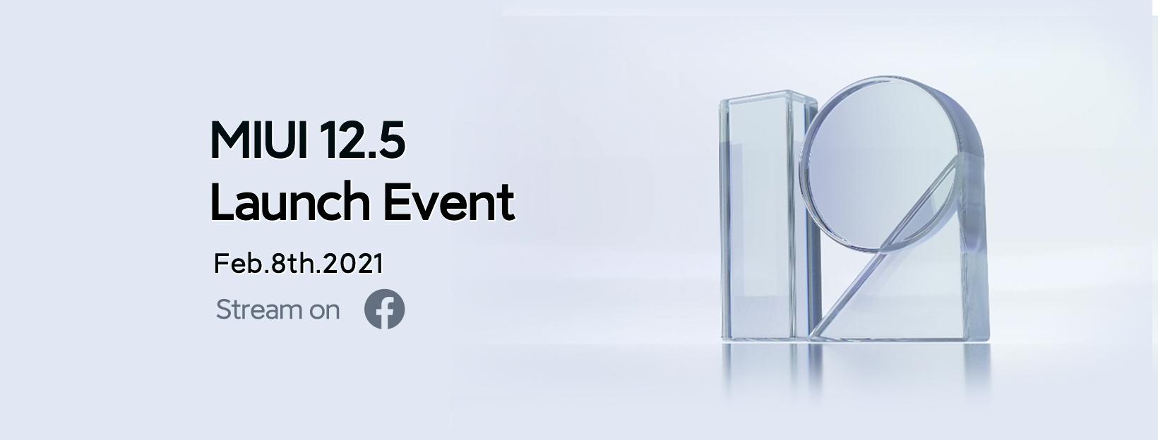 data di lancio MIUI 12.5 global