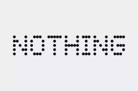 Nothing logo Carl Pei
