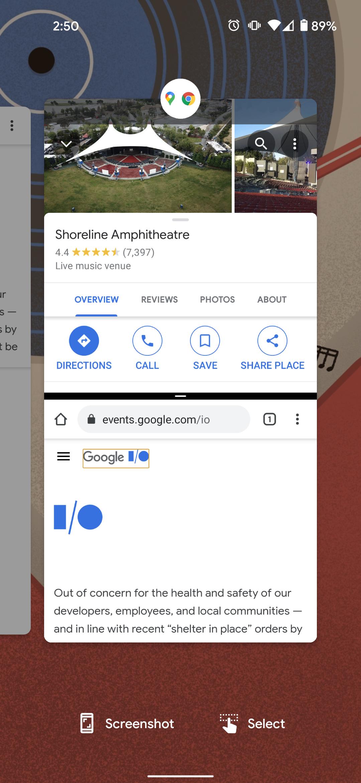 Android 12 mockup