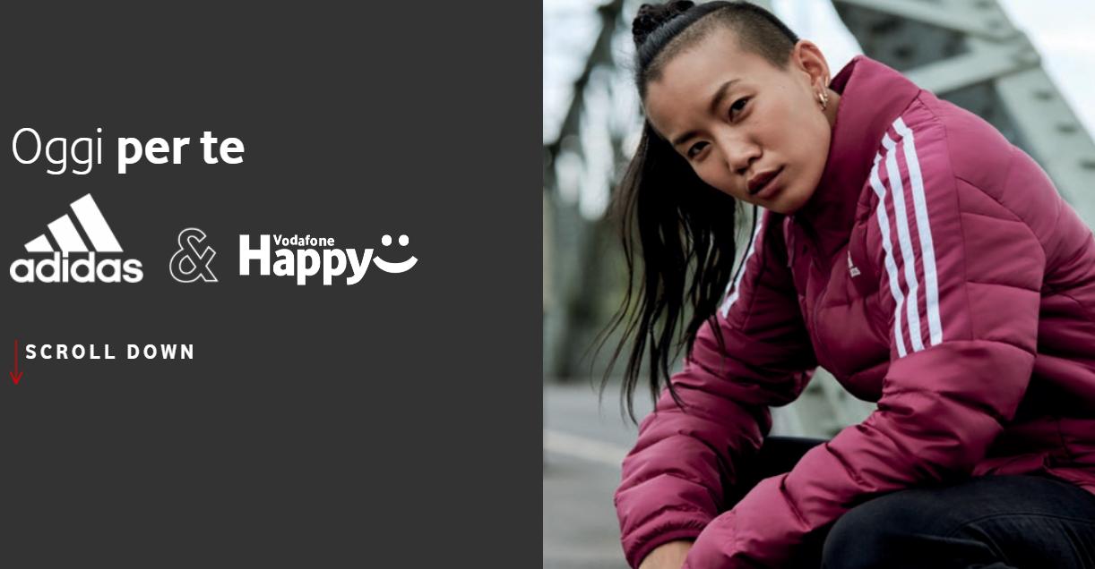 Vodafone Happy Moment adidas