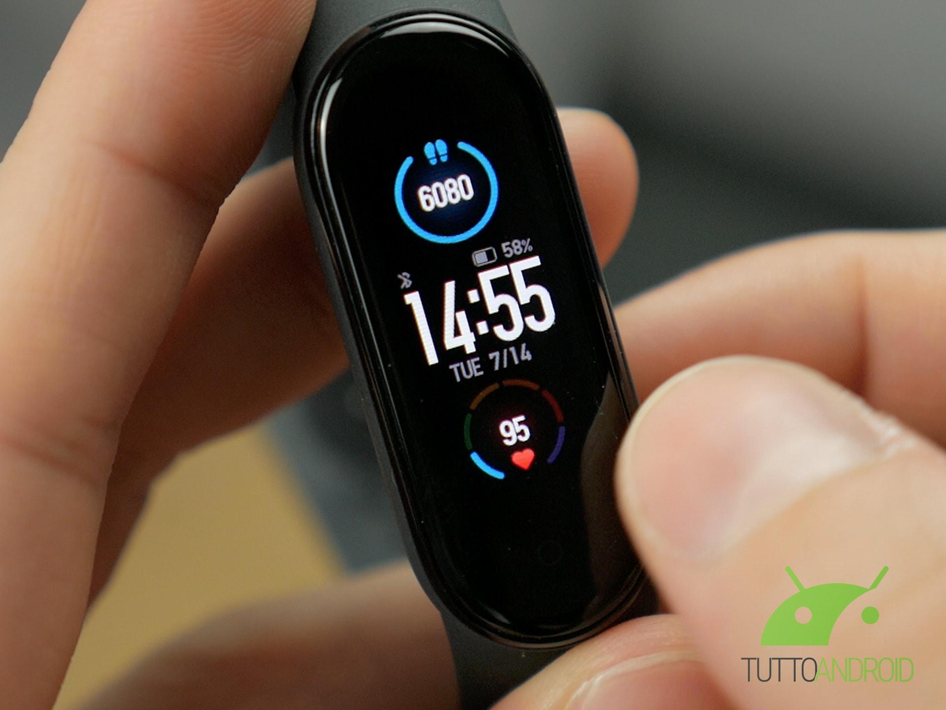 Xiaomi Mi Band 6 potrebbe avere il GPS