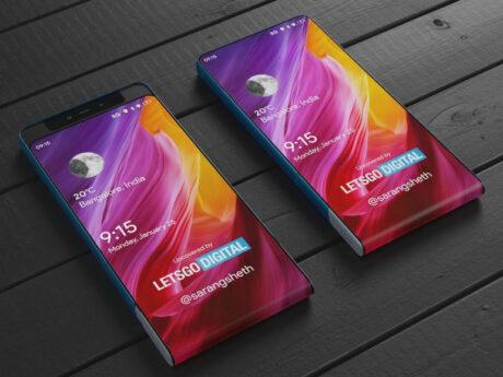 xiaomi brevetto smartphone display flessibile