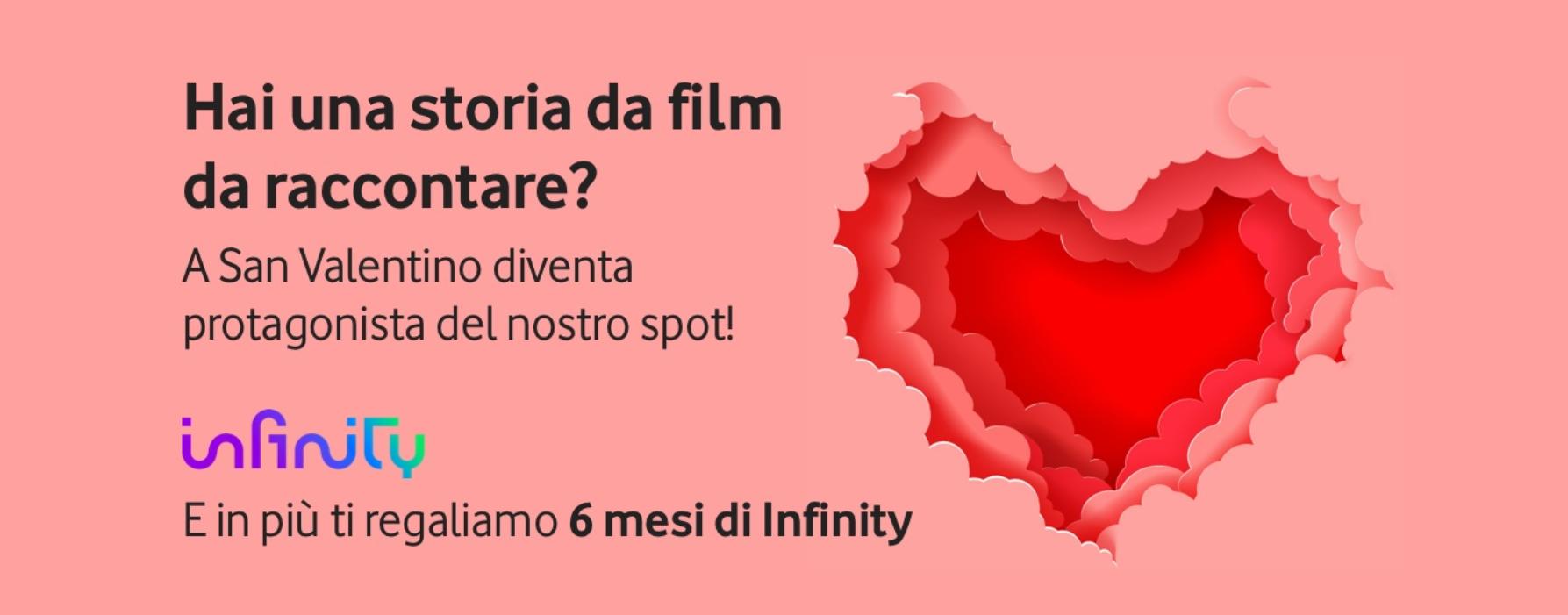 Vodafone Infinity TV #SanValentinoDaFilm