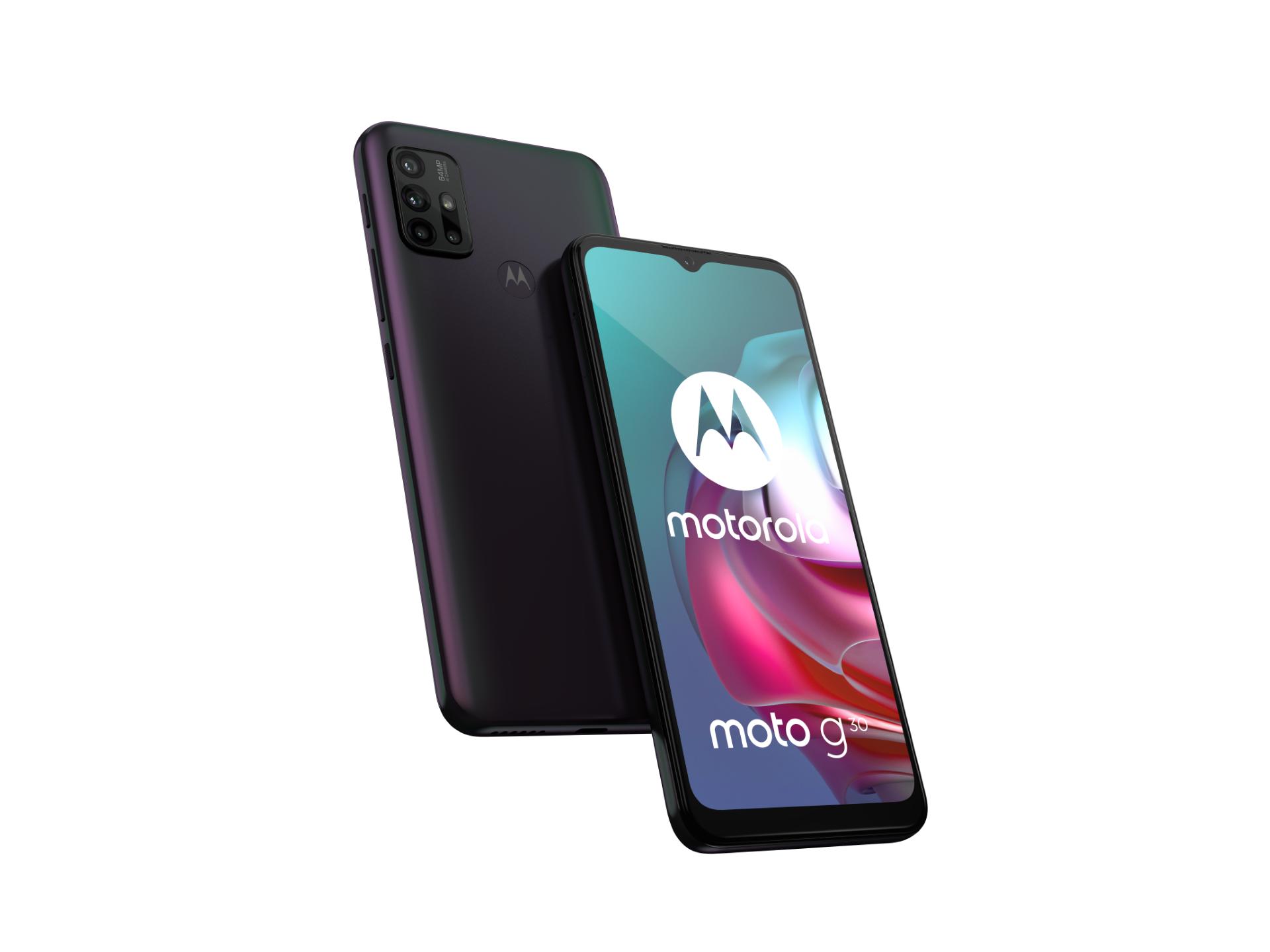 Motorola Moto G10 e Moto G30 disponibili su Amazon (già in offerta)
