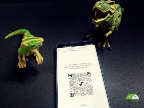 QR Code Dino 01