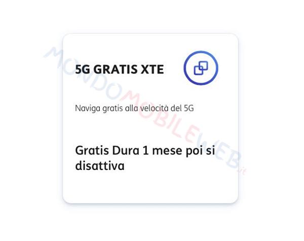 TIM 5G Gratis xTE