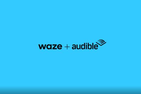 Waze + Audible