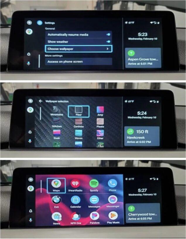 android auto wallpaper google assistant scorciatoie novità