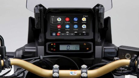 Honda africa twin android auto