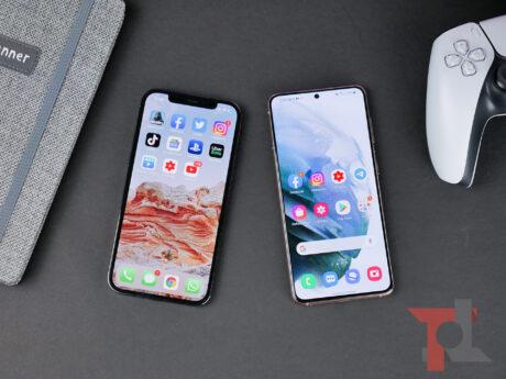 Iphone 12 pro vs samsung galaxy s21 tt 3