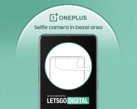 oneplus brevetto fotocamera cornice frontale