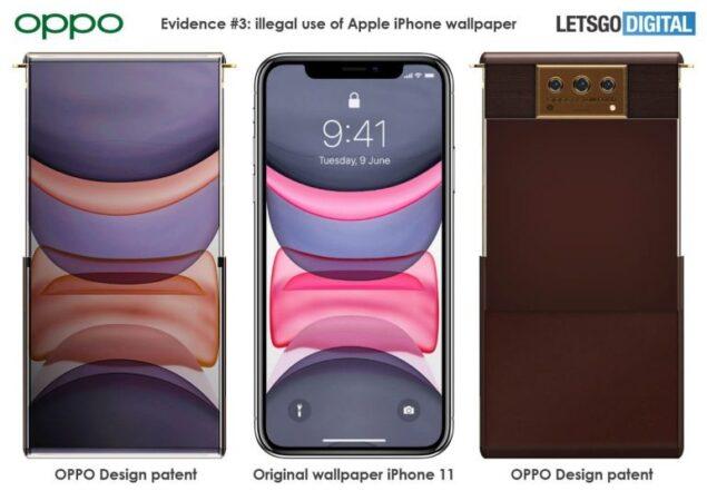 oppo brevetto smartphone apple tom ford